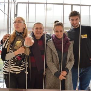 С Нети, Милен Миланов и Радина Кърджилова.
